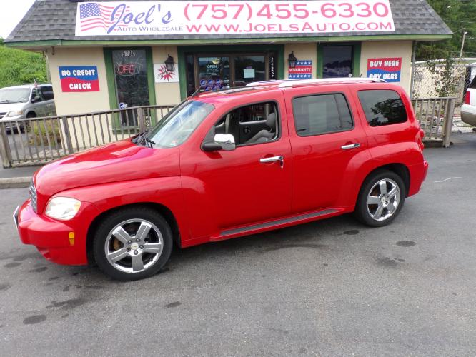 2011 Red Chevrolet HHR 2LT (3GNBACFU5BS) with an 2.4L L4 DOHC 16V FFV engine, 4-Speed Automatic transmission, located at 5700 Curlew Drive, Norfolk, VA, 23502, (757) 455-6330, 36.841885, -76.209412 - Photo #0